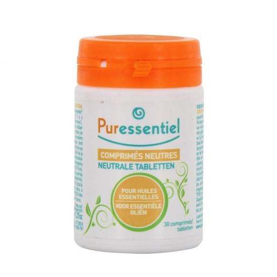 Puressentiel 30 comprimés neutres pour huiles essentielles