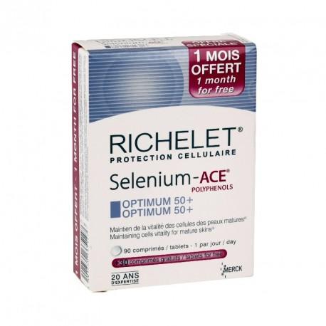 Richelet selenium-ace optimum 50+ 90 comprimés + 30 offerts