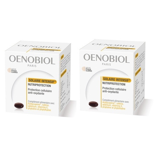 Oenobiol Solaire intensif nutriprotection duo 30 capsules