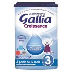 Gallia lait croissance 800g