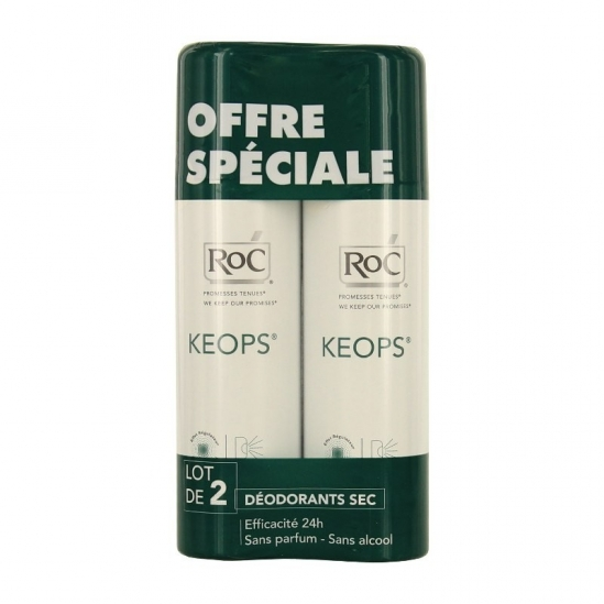 Roc Keops déodorant sec 150ml x2