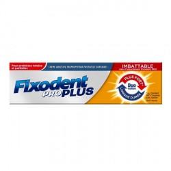 Fixodent pro plus crème adhésive premium pour prothèses dentaires 60 g