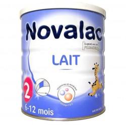 Novalac lait de suite 2ème âge 6 à 12mois 800g