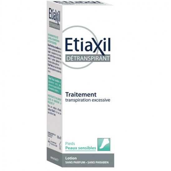 Etiaxil Détranspirant Peaux sensibles Lotion Pieds 100ml
