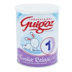 Guigoz evolia relais 1er âge 800g
