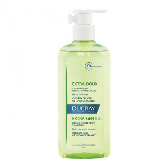 Ducray extra doux shampooing flacon pompe 400ml