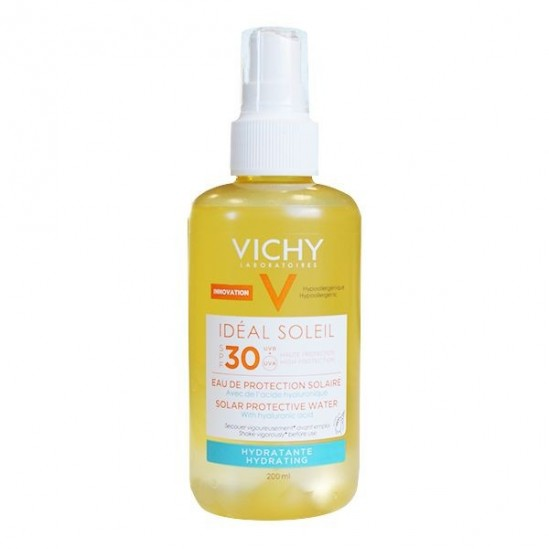 Vichy solaire eau de protection hydratante SPF30 200ml