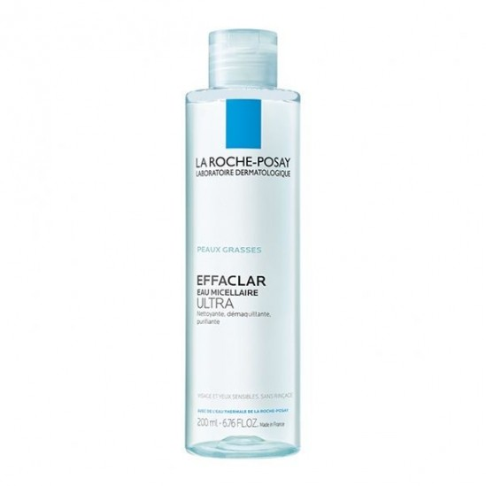 La Roche Posay effaclar eau micellaire purifiante 200ml