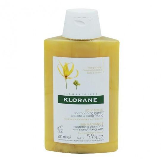 Klorane soin soleil shampooing ylang ylang 200ml
