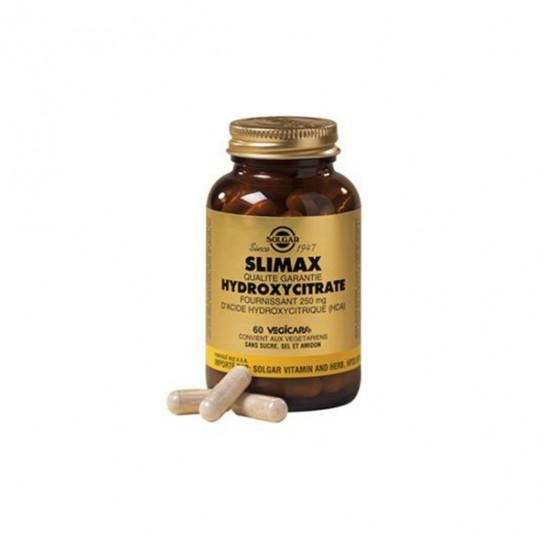 Solgar slimax hydroxycitrate minceur 60 gélules