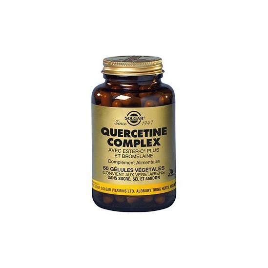 Quercétine Complexe 250mg 50 géluless