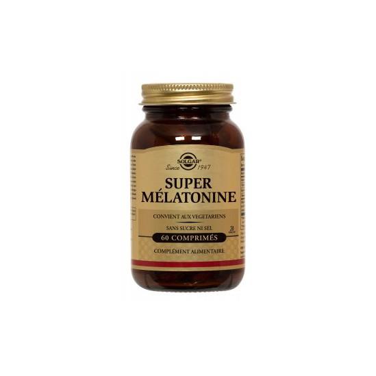 Solgar Super Mélatonine endormissement 1,9mg 60 comprimésv
