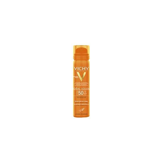 Vichy Ideal soleil brume Ffaîcheur visage SPF 50 crème solaire 75ml
